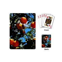 Orange Tree Playing Cards (mini)  by Valentinaart