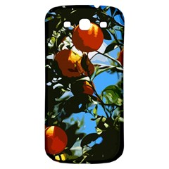 Orange Tree Samsung Galaxy S3 S Iii Classic Hardshell Back Case by Valentinaart
