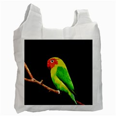 Parrot  Recycle Bag (two Side)  by Valentinaart