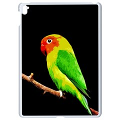 Parrot  Apple Ipad Pro 9 7   White Seamless Case by Valentinaart