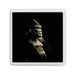 Gorilla  Memory Card Reader (square)  by Valentinaart