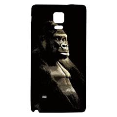 Gorilla  Galaxy Note 4 Back Case by Valentinaart