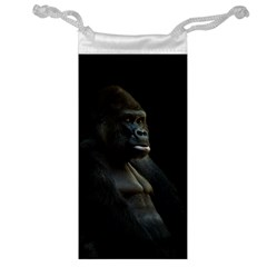 Gorilla  Jewelry Bag by Valentinaart