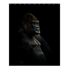 Gorilla  Shower Curtain 60  X 72  (medium)  by Valentinaart