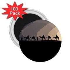 Caravan  2 25  Magnets (100 Pack)  by Valentinaart