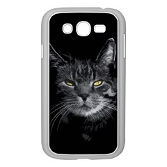 Domestic Cat Samsung Galaxy Grand Duos I9082 Case (white) by Valentinaart