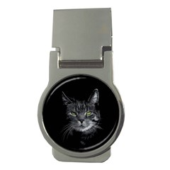 Domestic Cat Money Clips (round)  by Valentinaart