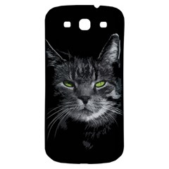 Domestic Cat Samsung Galaxy S3 S Iii Classic Hardshell Back Case by Valentinaart