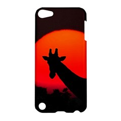 Giraffe  Apple Ipod Touch 5 Hardshell Case by Valentinaart