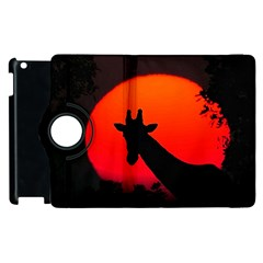 Giraffe  Apple Ipad 3/4 Flip 360 Case by Valentinaart
