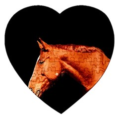 Horse Jigsaw Puzzle (heart) by Valentinaart
