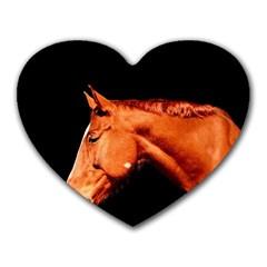 Horse Heart Mousepads by Valentinaart