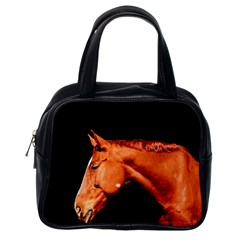 Horse Classic Handbags (one Side) by Valentinaart