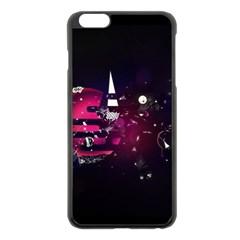 Fragments Planet World 3840x2400 Apple Iphone 6 Plus/6s Plus Black Enamel Case by amphoto