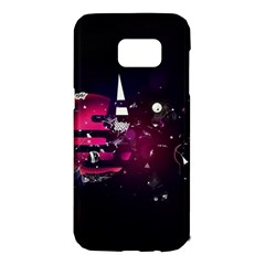 Fragments Planet World 3840x2400 Samsung Galaxy S7 Edge Hardshell Case by amphoto
