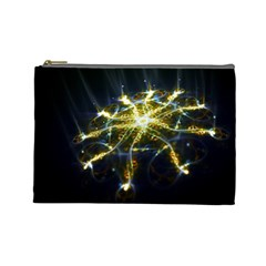 Surface Pattern Light  Cosmetic Bag (large)  by amphoto