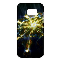 Surface Pattern Light  Samsung Galaxy S7 Edge Hardshell Case by amphoto