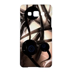 Connection Shadow Background  Samsung Galaxy A5 Hardshell Case  by amphoto
