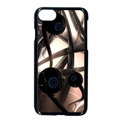 Connection Shadow Background  Apple Iphone 7 Seamless Case (black) by amphoto
