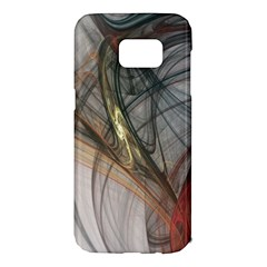 Plexus Web Light  Samsung Galaxy S7 Edge Hardshell Case by amphoto
