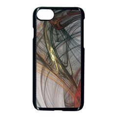 Plexus Web Light  Apple Iphone 7 Seamless Case (black) by amphoto