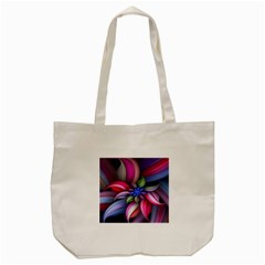 Flower Rotation Form  Tote Bag (cream) by amphoto