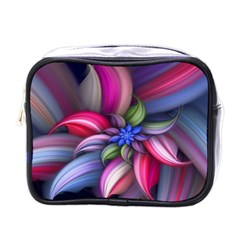 Flower Rotation Form  Mini Toiletries Bags by amphoto