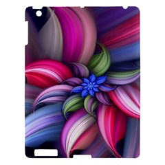 Flower Rotation Form  Apple Ipad 3/4 Hardshell Case by amphoto