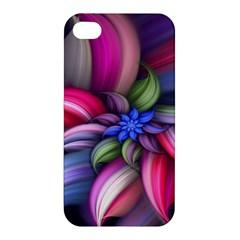 Flower Rotation Form  Apple Iphone 4/4s Premium Hardshell Case by amphoto