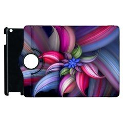 Flower Rotation Form  Apple Ipad 3/4 Flip 360 Case by amphoto