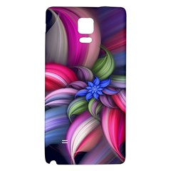 Flower Rotation Form  Galaxy Note 4 Back Case by amphoto