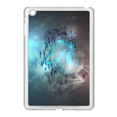 Something Light Abstraction  Apple Ipad Mini Case (white) by amphoto