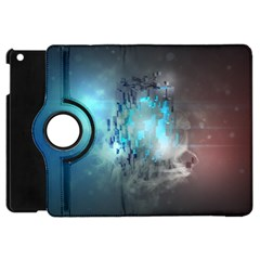 Something Light Abstraction  Apple Ipad Mini Flip 360 Case by amphoto