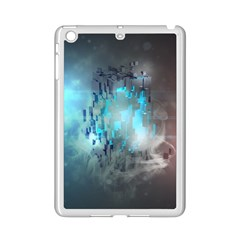 Something Light Abstraction  Ipad Mini 2 Enamel Coated Cases by amphoto