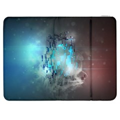Something Light Abstraction  Samsung Galaxy Tab 7  P1000 Flip Case by amphoto