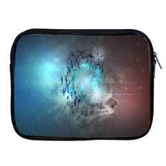 Something Light Abstraction  Apple Ipad 2/3/4 Zipper Cases by amphoto