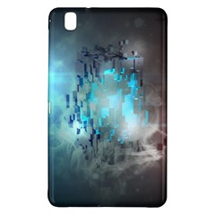 Something Light Abstraction  Samsung Galaxy Tab Pro 8 4 Hardshell Case by amphoto