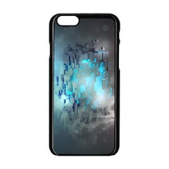 Something Light Abstraction  Apple Iphone 6/6s Black Enamel Case by amphoto