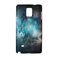 Something Light Abstraction  Samsung Galaxy Note 4 Hardshell Case by amphoto