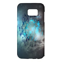Something Light Abstraction  Samsung Galaxy S7 Edge Hardshell Case by amphoto