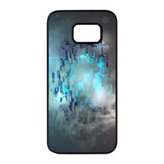 Something Light Abstraction  Samsung Galaxy S7 Edge Black Seamless Case by amphoto