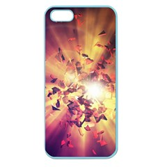 Shards Explosion Energy  Apple Seamless Iphone 5 Case (color) by amphoto