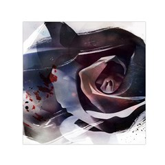 2272 Paper Paint Lines 3840x2400 Small Satin Scarf (square) by amphoto