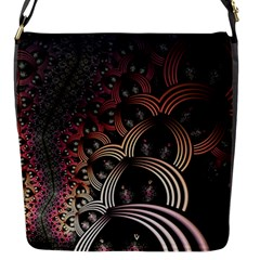 Patterns Surface Shape Flap Messenger Bag (s) by amphoto