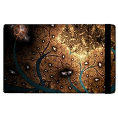 Line Pattern Shape  Apple Ipad 3/4 Flip Case by amphoto
