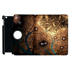 Line Pattern Shape  Apple Ipad 3/4 Flip 360 Case by amphoto