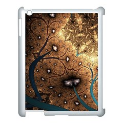 Line Pattern Shape  Apple Ipad 3/4 Case (white) by amphoto