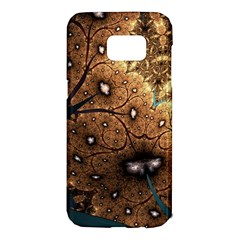 Line Pattern Shape  Samsung Galaxy S7 Edge Hardshell Case by amphoto