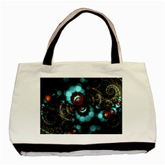 Spiral Background Form 3840x2400 Basic Tote Bag by amphoto
