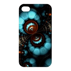 Spiral Background Form 3840x2400 Apple Iphone 4/4s Hardshell Case by amphoto